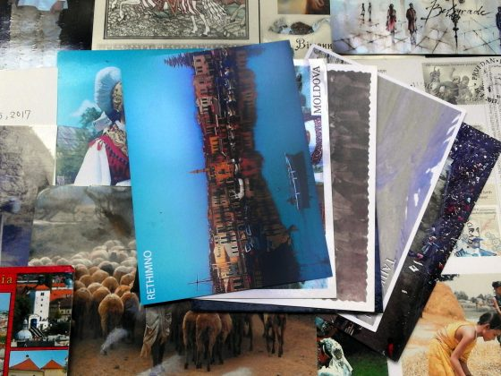experience of collecting postcards