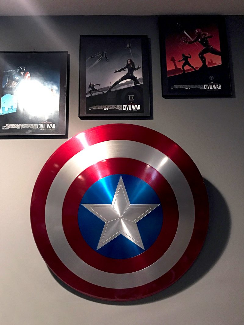 Captain America's shield Marvel collection