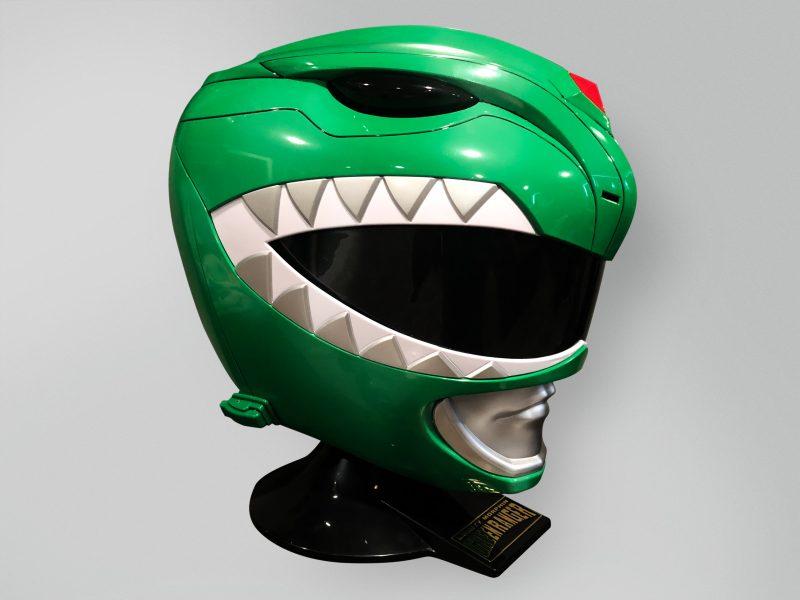 Mighty Morphin Legacy Green Power Ranger helmet 1:1 scale wearable helmet