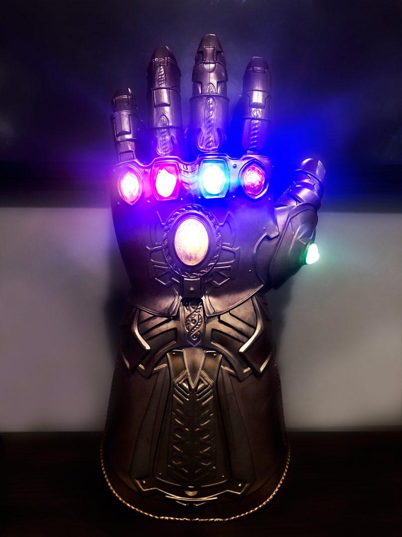 the Infinity Gauntlet film memorabilia