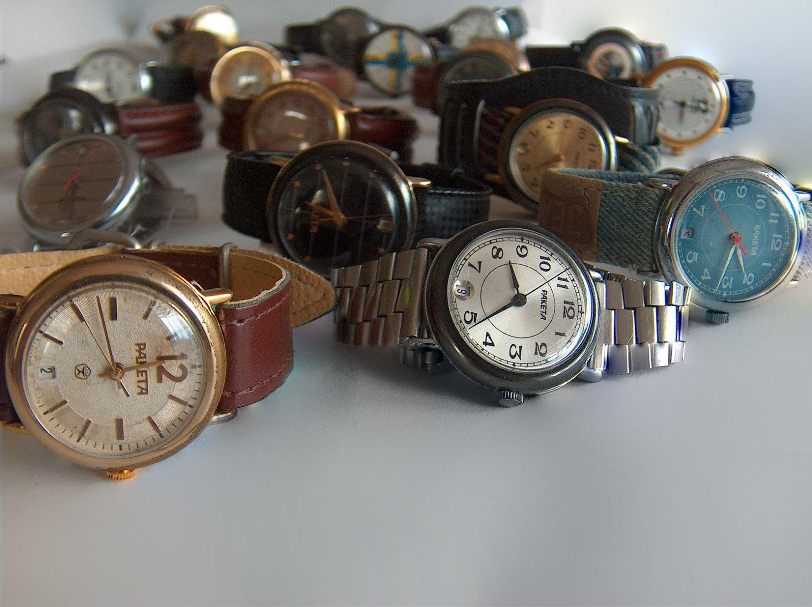 raketa watches owned by enkil