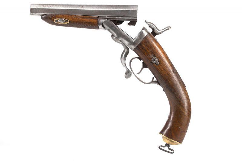 16g Pinfire Shotgun Pistol - featured collectibles