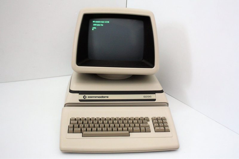 commodore 8296 history of computing