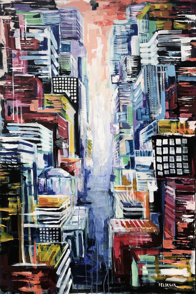 Feliksik's paintings