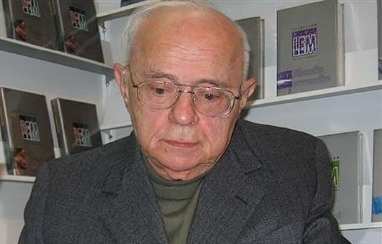 Stanisław Lem, fot. Mariusz Kubik, 2005 (Wikipedia)