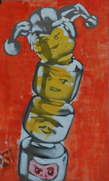 """Anka Mierzejewska, """"They Are So Smart"""", olej, 2008. Fot. archiwum A. Mierzejewskiej"""