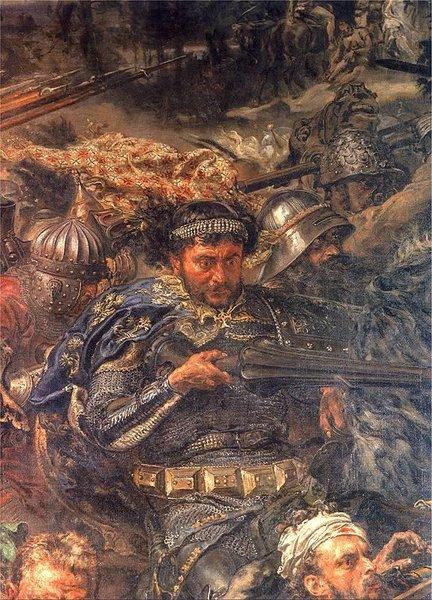 Zawisza Czarny z Garbowa na obrazie Matejki