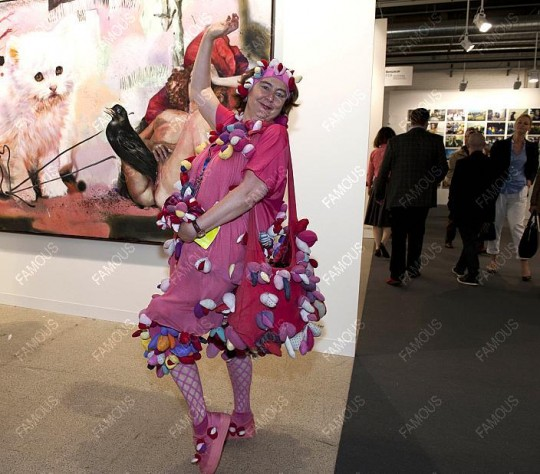 Alexandra Fly, 41 Art Basel, Niemcy, 2010