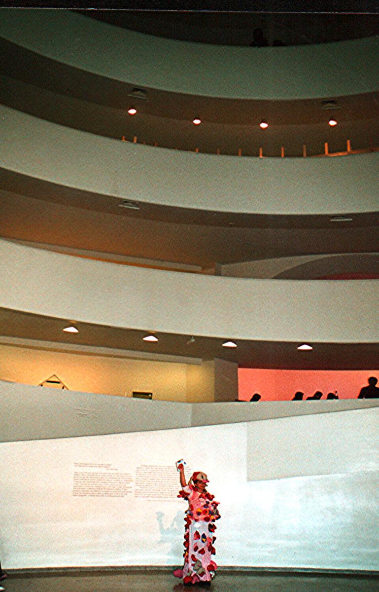 Alexandras Fly, Guggenheim, Nowy Jork, 2007, fot. N. Mattmüller