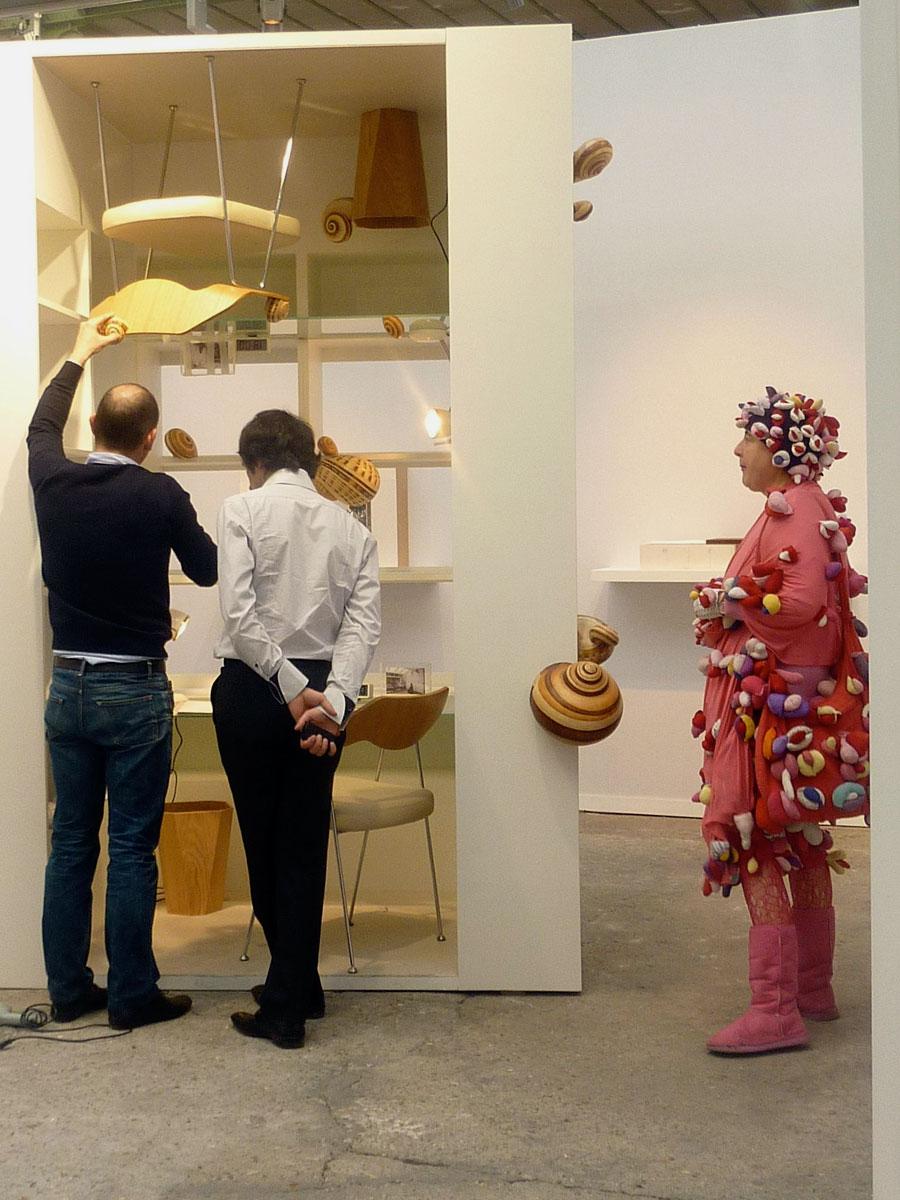 Alexandras Fly, Art Paris, 2010 chez FOURTOU