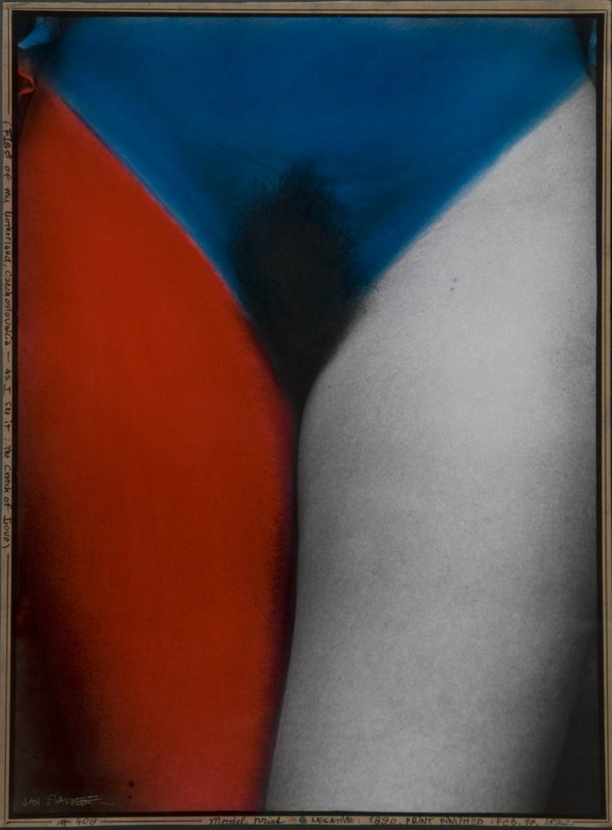 Jan Saudek, Flaga mojej ojczyzny Czechosłowacji taka, jaką ją widzę, 1992