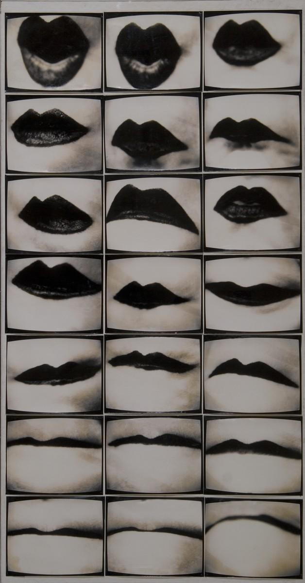 Pezold Friederike, Mundwerk, 1974-75, 7 x 23 x 29 cm