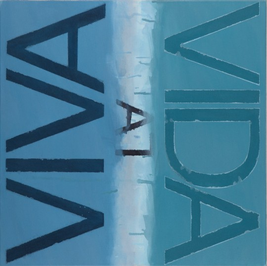 Małgorzata Dawidek Gryglicka, Viva la Vida, Poznan 2010, akrylna p3ótnie, 70 × 70 cm, fot. Zdzisław Orłowski