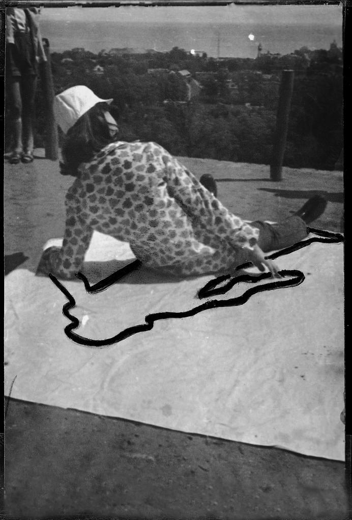 "Ewa Partum, ""Obecność/Nieobecność"", Sopot 1965"