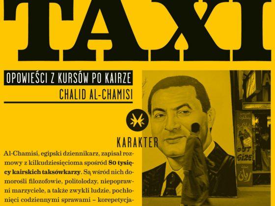 """Taxi"", Chalid al Chamisi (Karakter, 2011), fragment okładki"