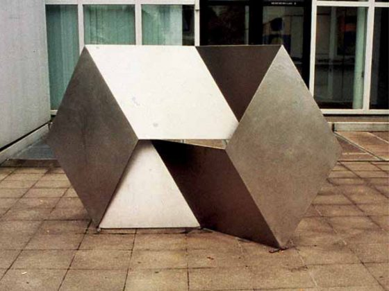 Achim Pahle, kwadratosześcian, 2000, fot. Jerzy Olek