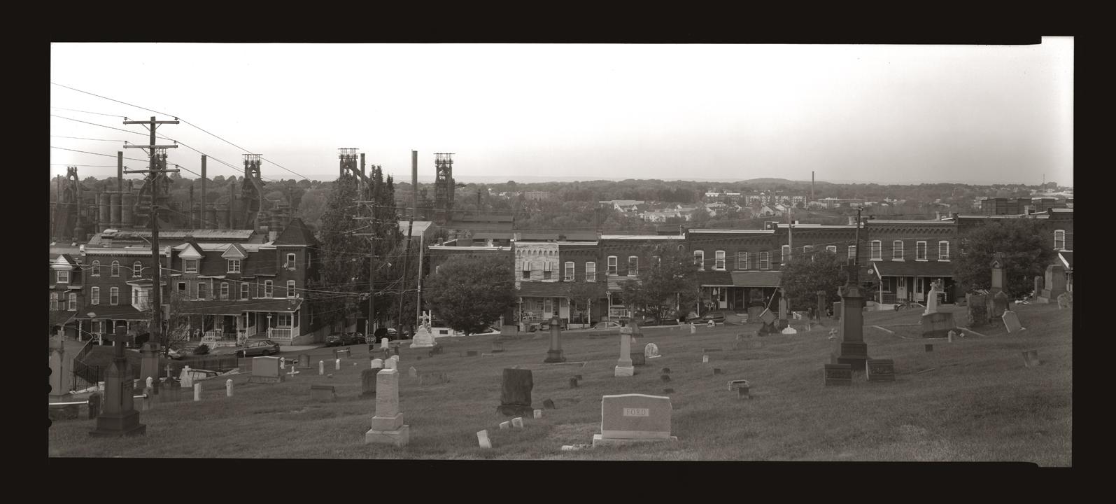 """Cykl """"Panoramiczny dziennik podróżny"""": """"Bethlehem, Pennsylvania, 2007"""", fot. Andrzej Jerzy Lech"""