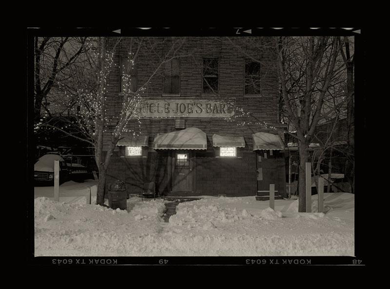 """Cykl """"Kalendarz szwajcarski, rok 1912"""": """"Jersey City, New Jersey, 1997"""", fot. Andrzej Jerzy Lech"""
