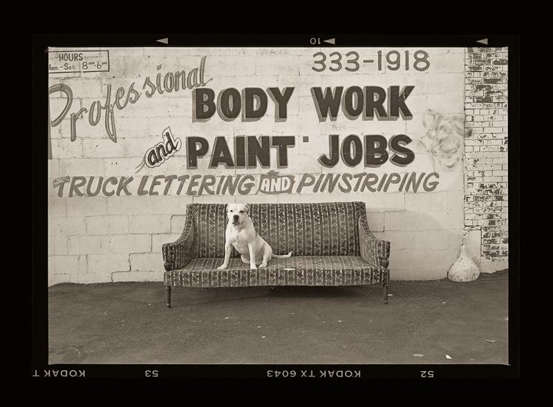 """Cykl """"Kalendarz szwajcarski, rok 1912"""": """"Jersey City, New Jersey, 1993"""", fot. Andrzej Jerzy Lech"""