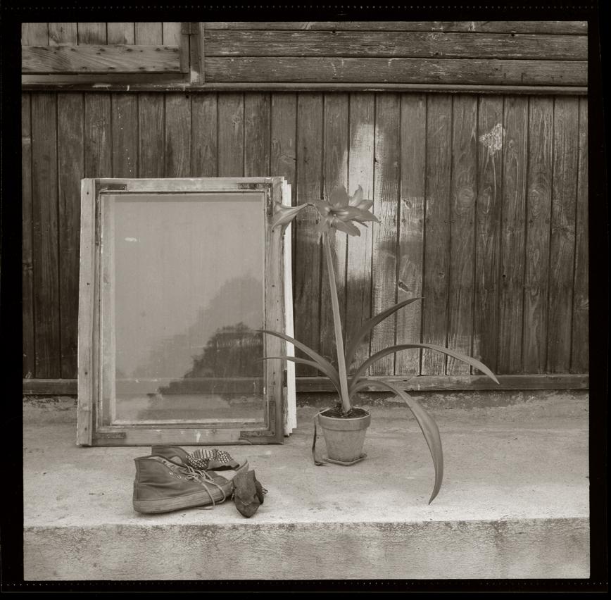 """Cykl """"Cytaty z jednej rzeczywistości"""": """"Księgnice, 1980"""", fot. Andrzej Jerzy Lech"""