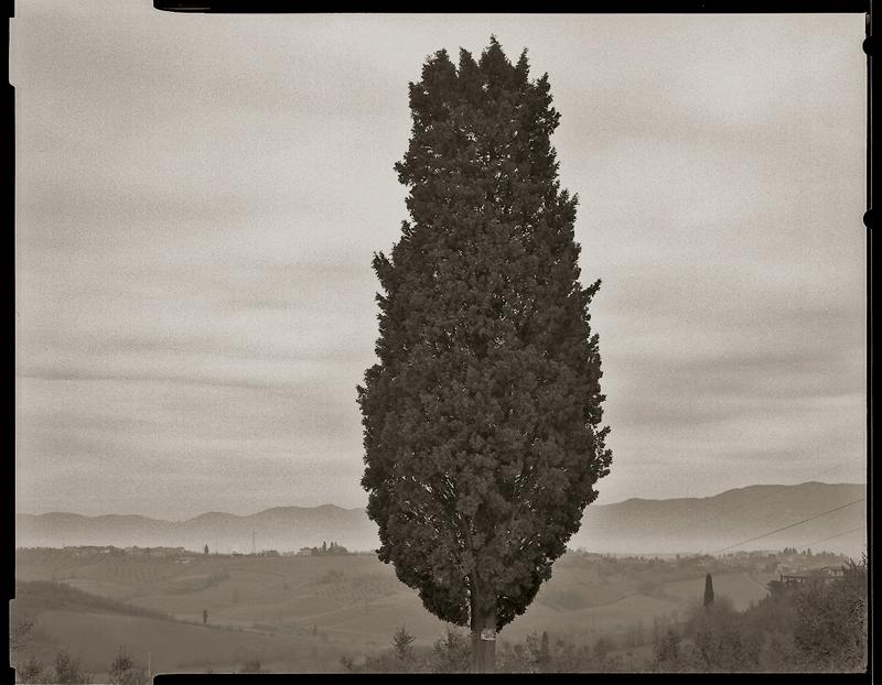 """Cykl """"Dziennik podróżny"""": """"Lucca, Toscana, 2003"""", fot. Andrzej Jerzy Lech"""