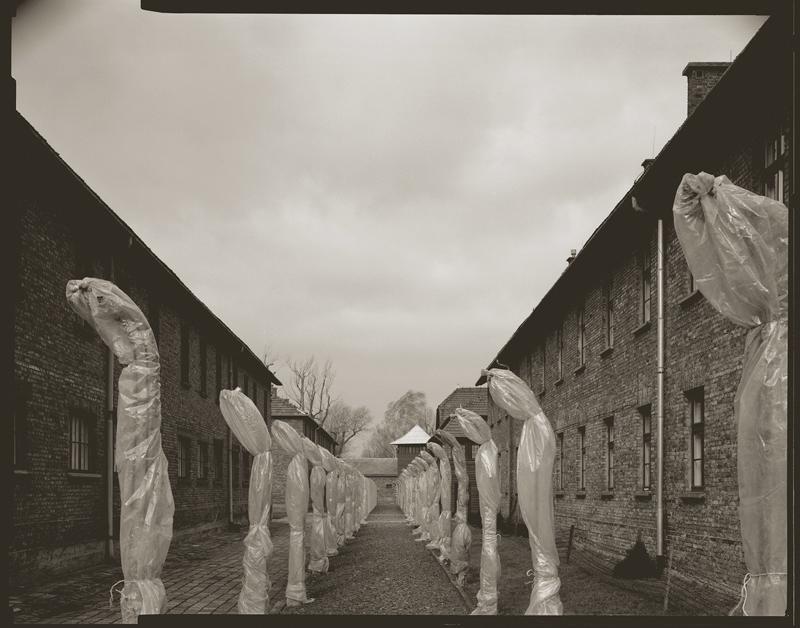 """Cykl """"Dziennik podróżny"""": """"Oświęcim-Auschwitz, Polska, 2002"""", fot. Andrzej Jerzy Lech"""