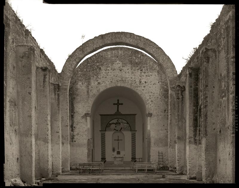 """Cykl """"Dziennik podróżny"""": """"Saban, Mexico, 2007"""", fot. Andrzej Jerzy Lech"""