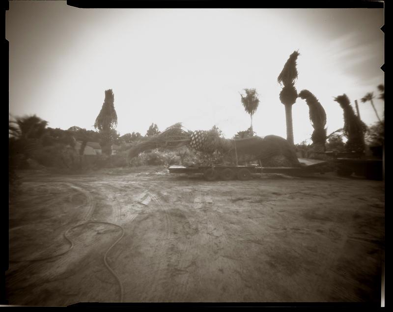 """Cykl """"Fotografia otworkowa"""": """"Tampa, Florida, 1997"""", fot. Andrzej Jerzy Lech"""