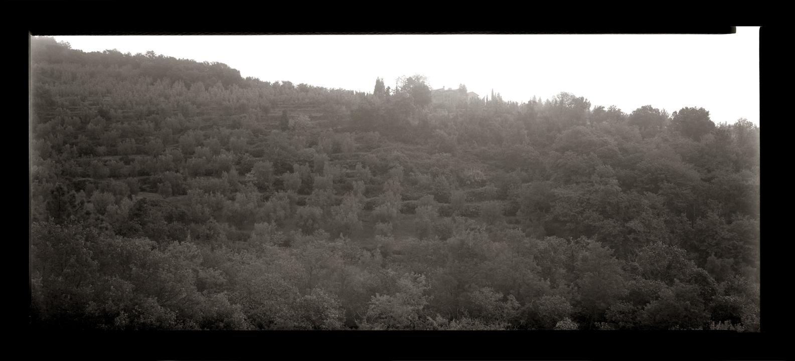 """Cykl """"Panoramiczny dziennik podróżny: """"Vinci, Toscana, 2006"""", fot. Andrzej Jerzy Lech"""