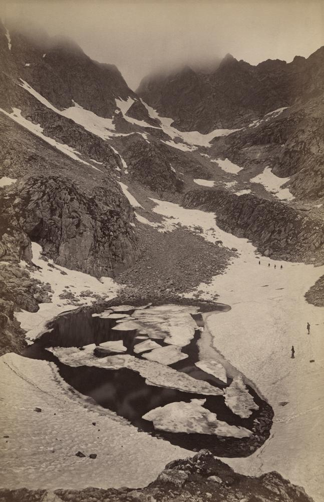 Awit Szubert, widok Zawratu znad Zmarzłego Stawu, 1876–1878 (dzięki uprzejmości Stefana Okołowicza)