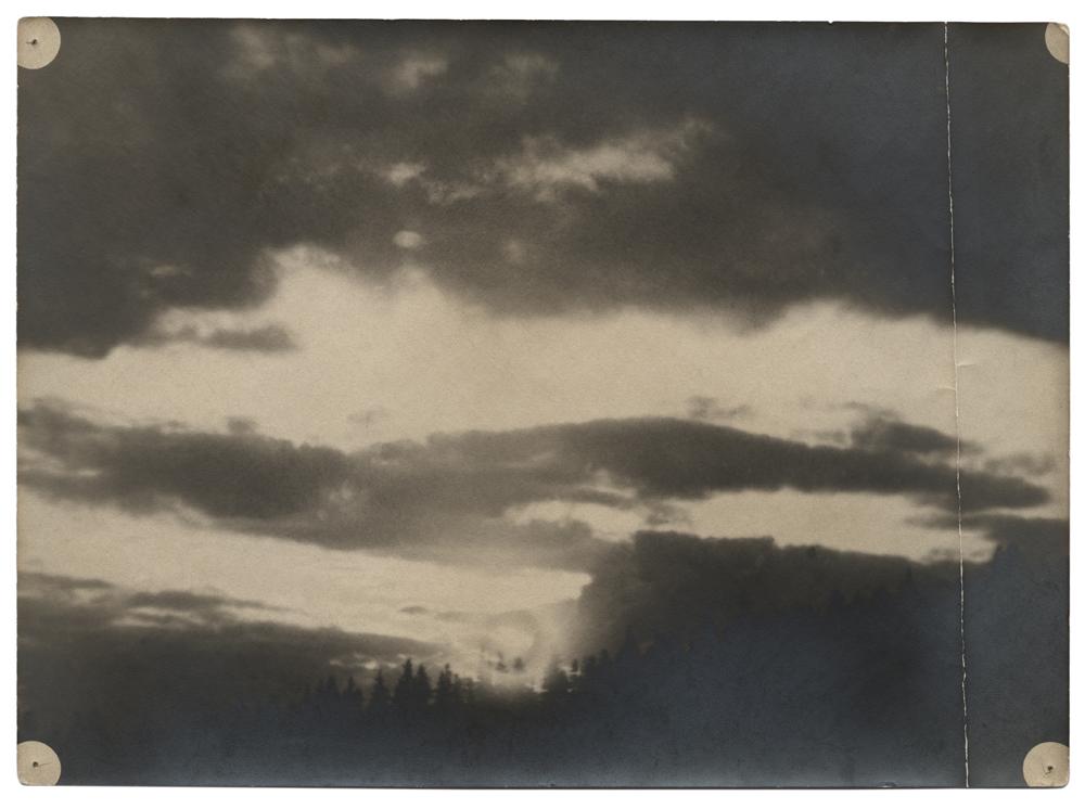 Stanisław Ignacy Witkiewicz, Zachód słońca, ok. 1900 (dzięki uprzejmości Stefana Okołowicza)
