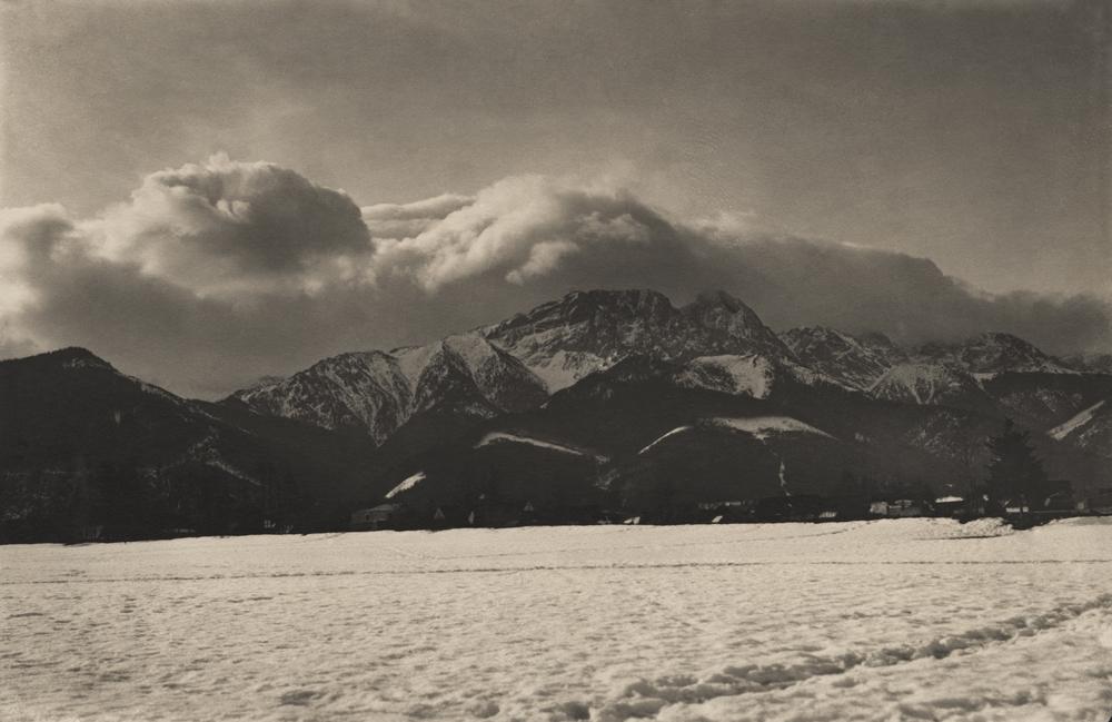 Borys Wigilew, Wiatr halny nad Giewontem, 1913 (dzięki uprzejmości Stefana Okołowicza)