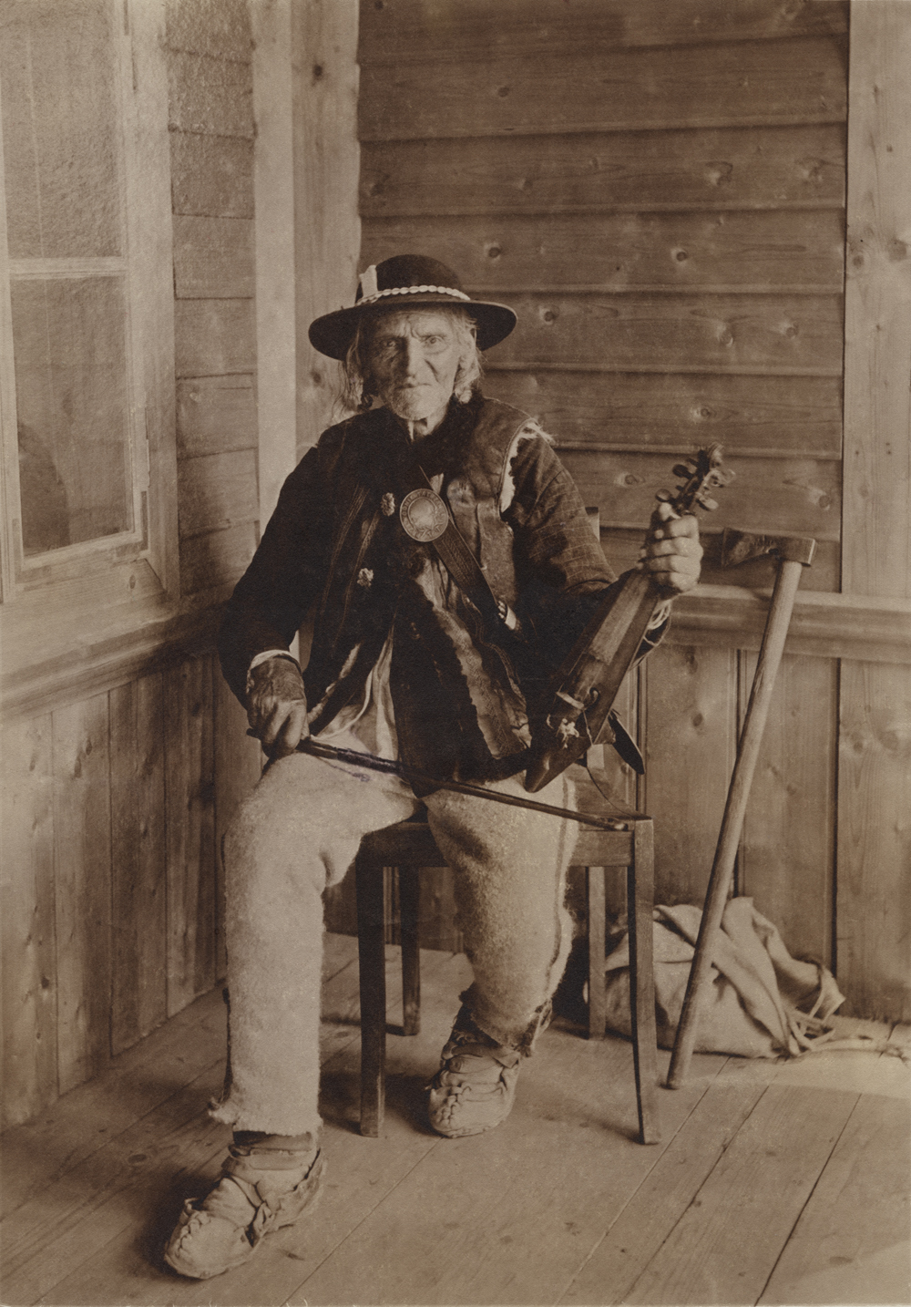 Benedykt hr. Tyszkiewicz, Sabała ,1892, reprodukcja z oryginału wykonana przez Witkiewiczów (dzięki uprzejmości Stefana Okołowicza)