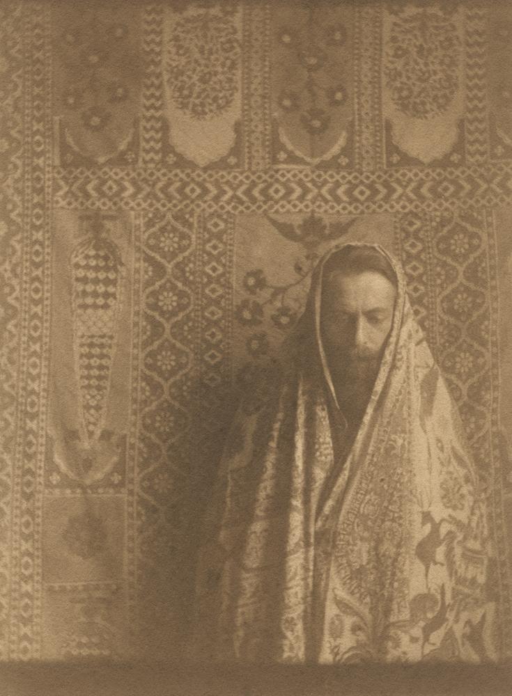 Tadeusz Langier, Autoportret, początek XX wieku (dzięki uprzejmości Stefana Okołowicza)