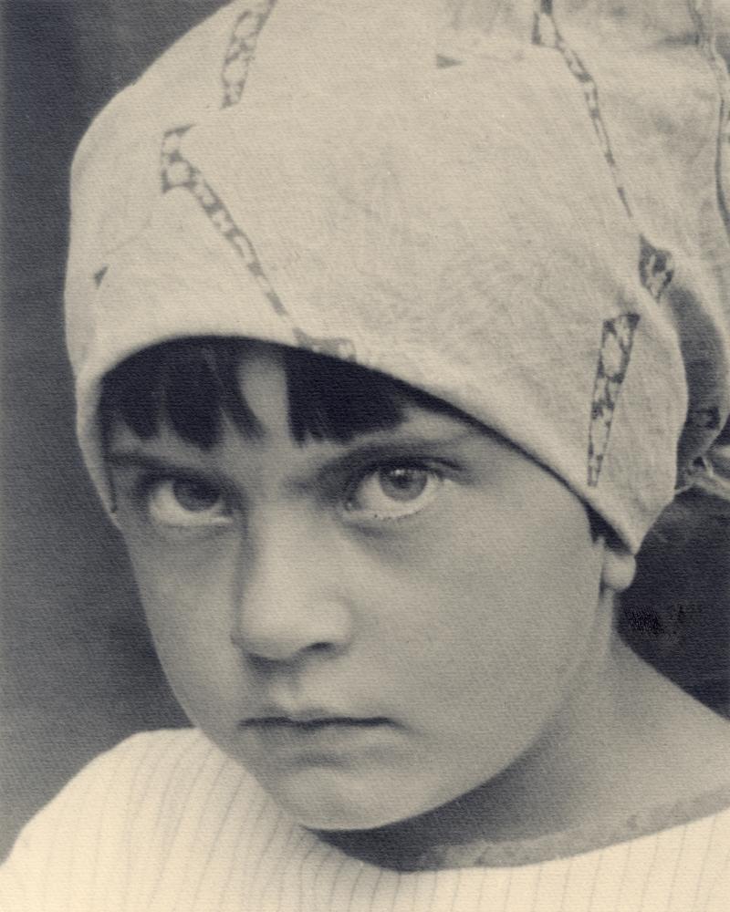 Józef Głogowski, portret córki Zofii, 1924 (dzięki uprzejmości Stefana Okołowicza)