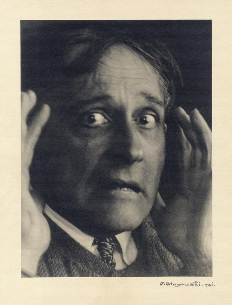 Józef Głogowski, portret S. I. Witkiewicza – Przerażenie wariata, 1931 (dzięki uprzejmości Stefana Okołowicza)