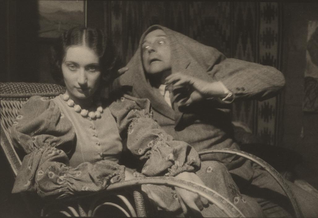 S. I. Witkiewicz i Inka Turowska, Potwór z Düsseldorfu, 1932, zdjęcie wykonał Władysław Jan Grabski (źródło: archiwum Rodziny Grabskich, dzięki uprzejmości Grzegorza Jana Grabskiego)