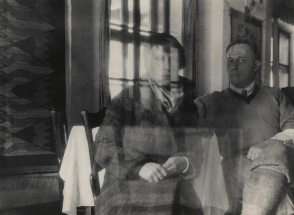 Stanisław Ignacy Witkiewicz, autoportret z Czesławą Oknińską, lata 30. (dzięki uprzejmości Stefana Okołowicza)