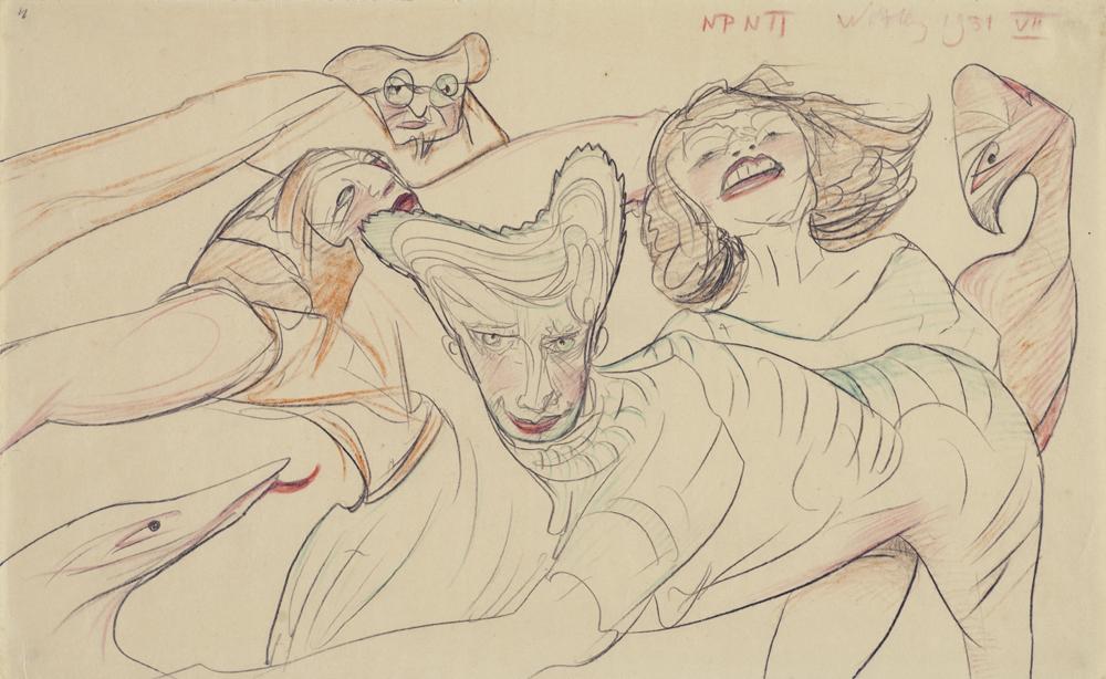 Stanisław Ignacy Witkiewicz, bez tytułu, rysunek, 1931 (dzięki uprzejmości Stefana Okołowicza)