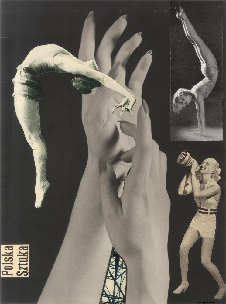 Mieczysław Choynowski, fotomontaże, 1938-1942 (dzięki uprzejmości Stefana Okołowicza)