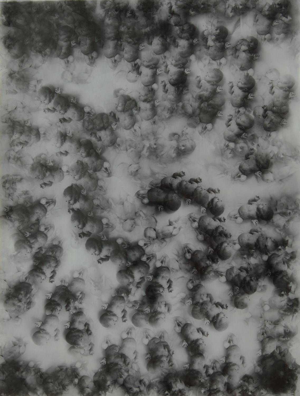 Stefan Okołowicz, Przemijanie-Fraktal, 1972 (dzięki uprzejmości Stefana Okołowicza)