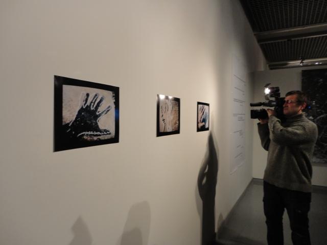 Na ekspozycji wystawy Zygmunt Rytka w MS2, fot. K. Jurecki