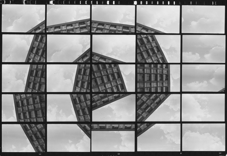 Zygmunt Rytka, Określenie miejsca. Spirala, 1979 [poza wystawą w MS], fot. Zygmunt Rytka, (dzięki uprzejmości autora)