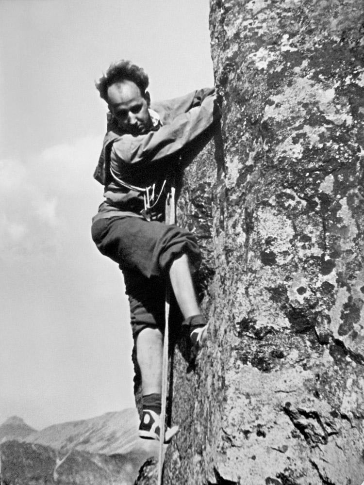 Jacek Karpiński w Tatrach, lata 50. Fot. ze zbiorów prywatnych