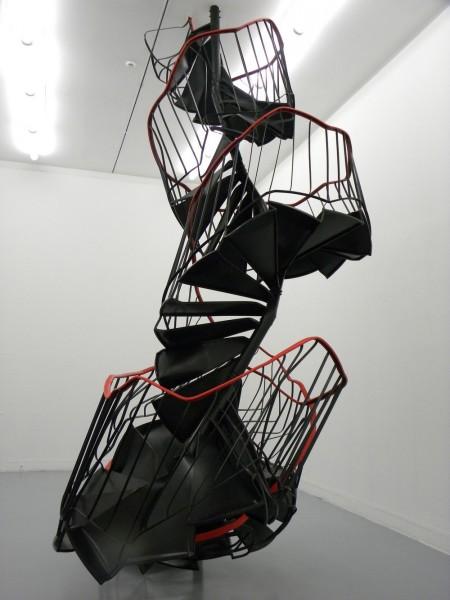"Monika Sosnowska, ""Schody "" 2010, fot. Piotr Sikora"