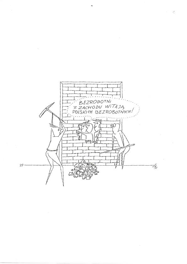 """Stefan Papp, rysunki z cyklu """"Pan Tadeusz a sprawa polska"""" (dzięki uprzejmości autora)"""