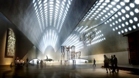Sala wystawowa, (The exhibition hall), fot. Muzeum Sztuki Nowoczesnej w Warszawie (źródło: materiał prasowy)
