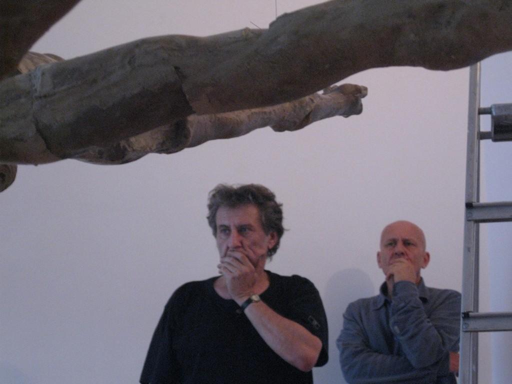 """Marek Chlanda, Jaromir Jedliński """"Życie zewnętrzne"""", Galeria Muzalewska, Poznań, 2009, fot. Hanna Muzalewska"""