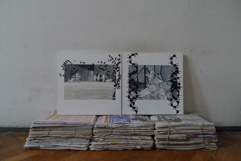 "Marek Chlanda ""Uzdrowisko"" [fragment], 2011-2012, fot. Marek Chlanda"