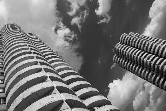 Le Corbusier w Katowicach, Tysiaclecie, arch H. Buszko i A. Franta, fot.Paweł Pomykalski (źródło: materiały prasowe Centrum Architektury)